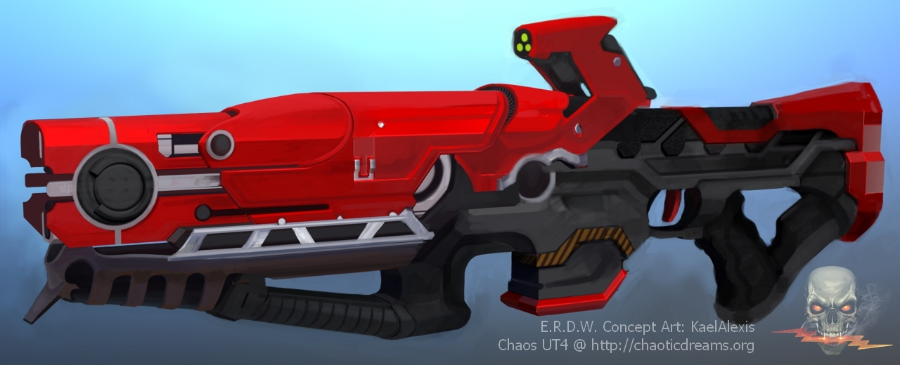 Rail Gun Concept Art