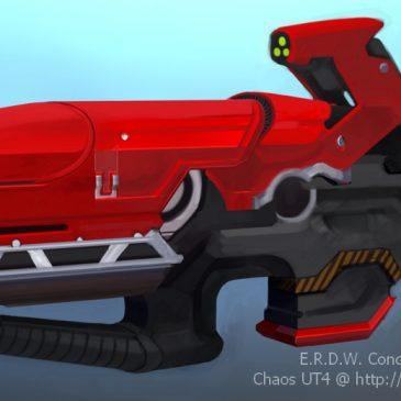 Kael's Rail Gun Concept
