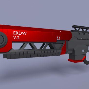 Rail gun model & Zen Relic
